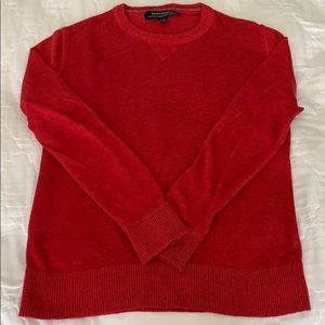 Banana Republic Red Linen Sweater